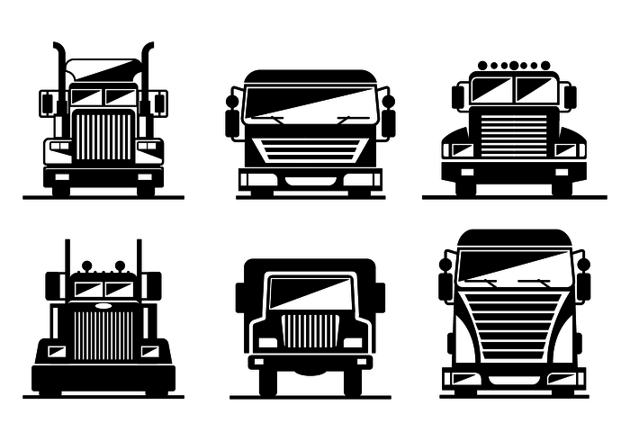 700x490 Truck Free Vector Art