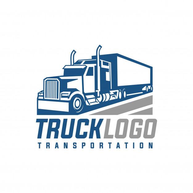 626x626 Truck Logo Vector Vector Premium Download