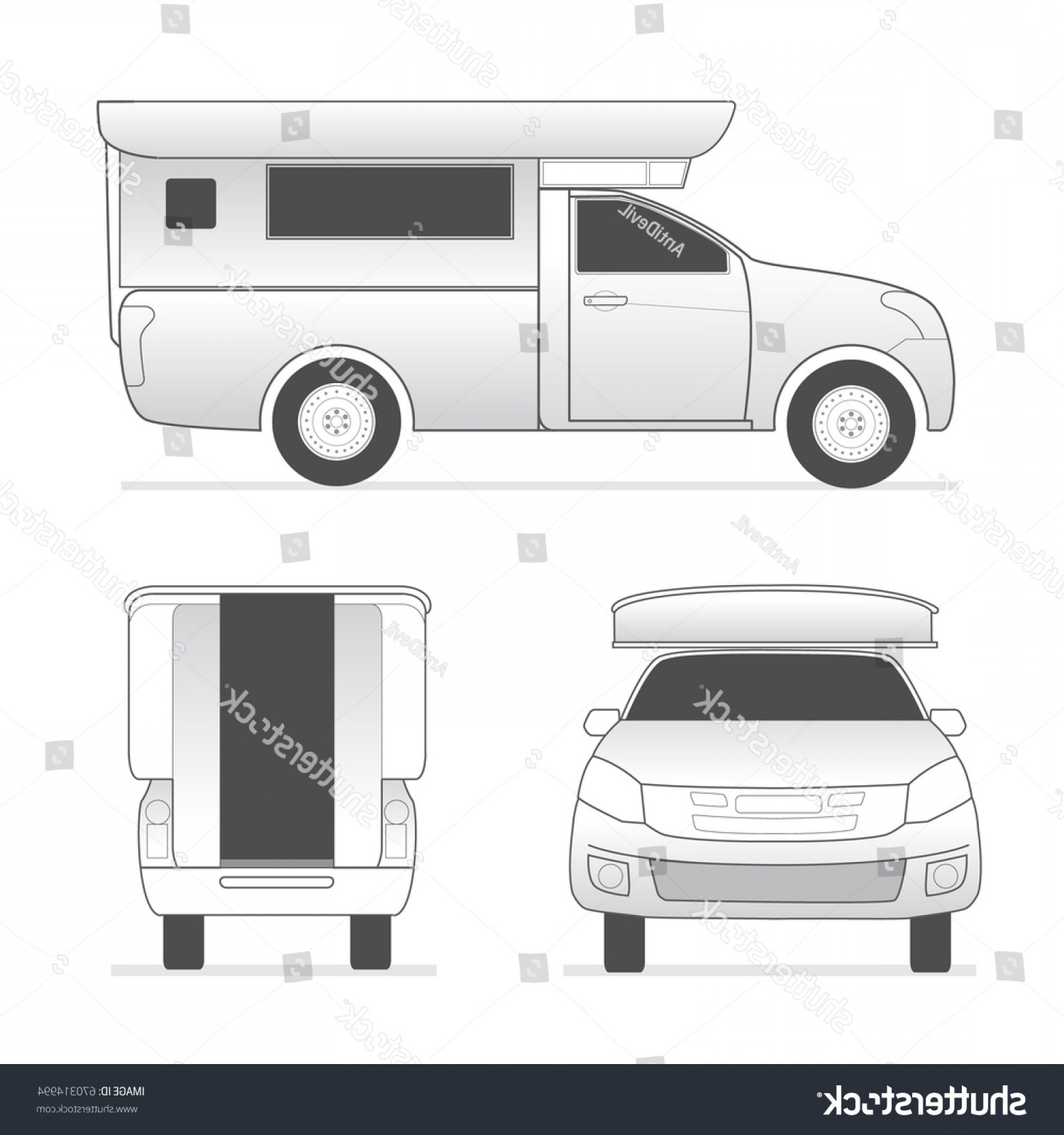 1800x1920 Pickup Truck Template Outline Vector Orangiausa