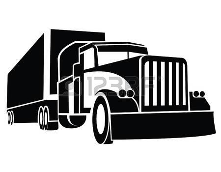 450x350 Semi Truck Vector Art Free 5 213 Semi Truck Stock Illustrations