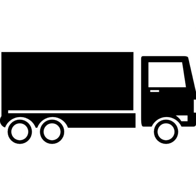626x626 Truck Png Vector