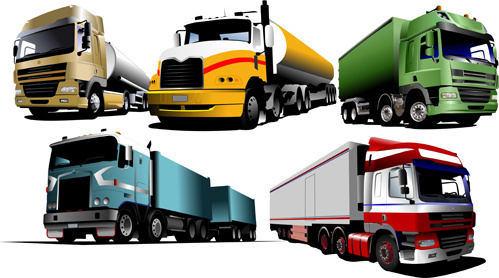 499x278 Truck Vector Free Vector Download (489 Free Vector) For Commercial
