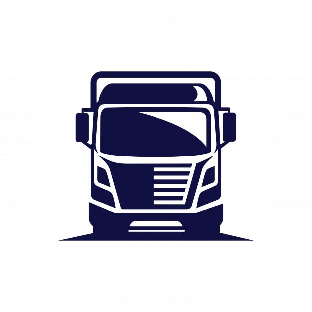 626x626 Truck Vector Logo Vector Premium Download