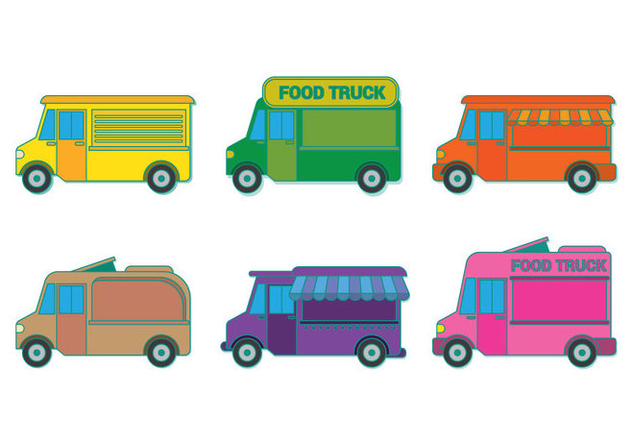 632x443 Food Truck Vector Free Vector Download 305803 Cannypic