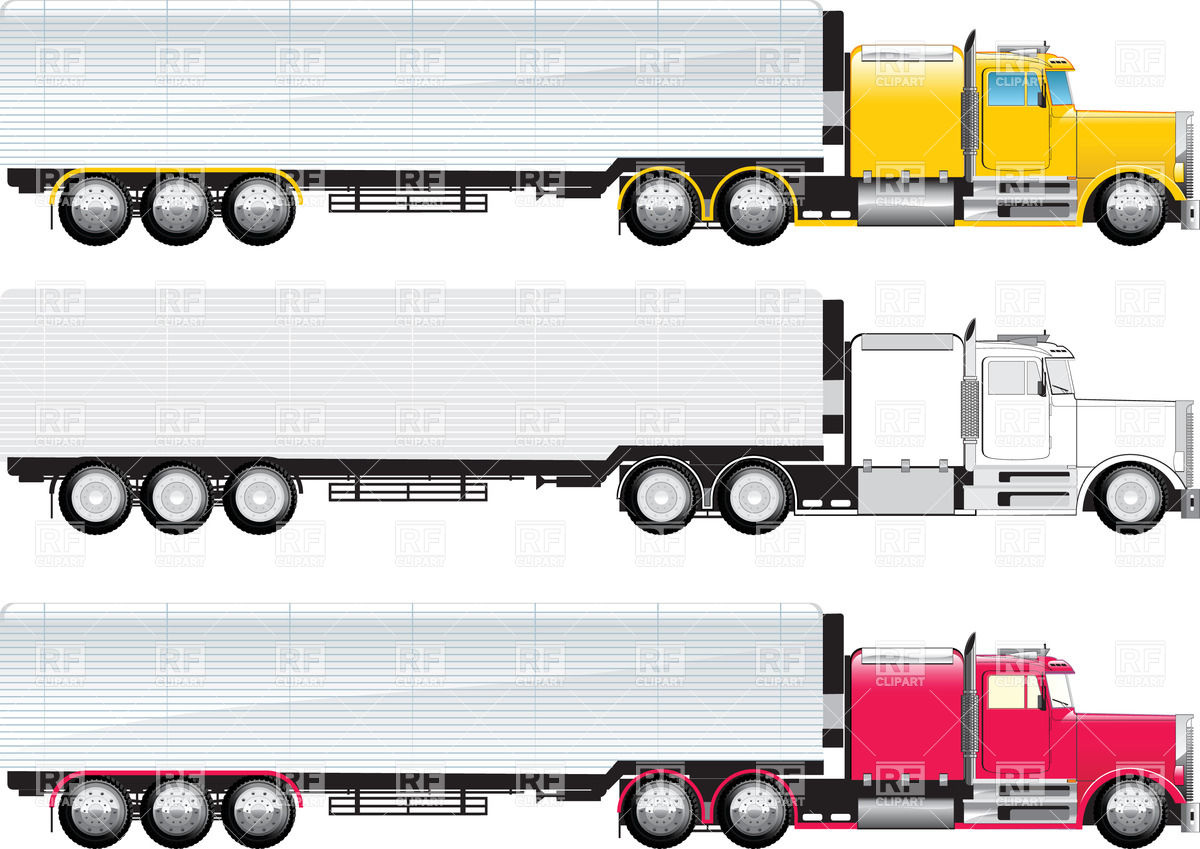1200x849 Side View Of Truck Vector Image Vector Artwork Of Transportation