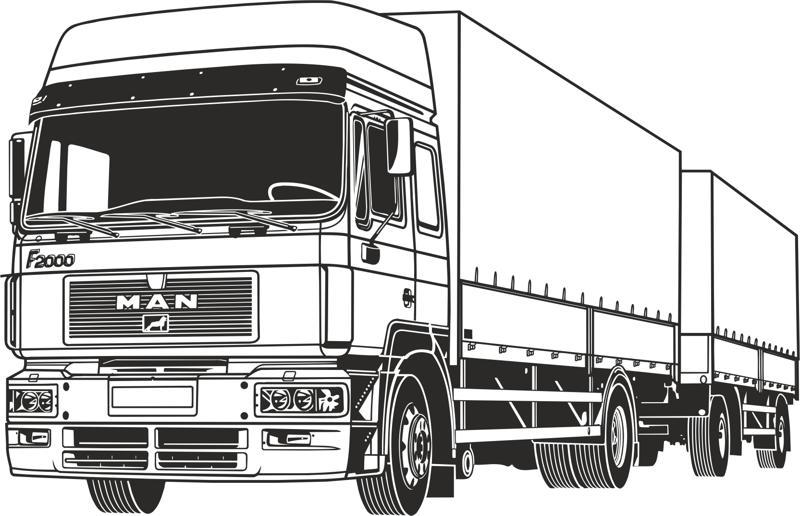 800x516 Truck Vector Free Vector Download