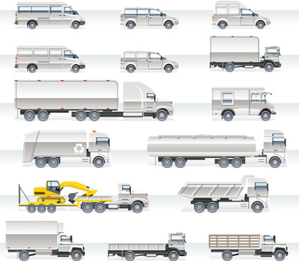 422x368 Truck Vector Free Vector Download (489 Free Vector) For Commercial