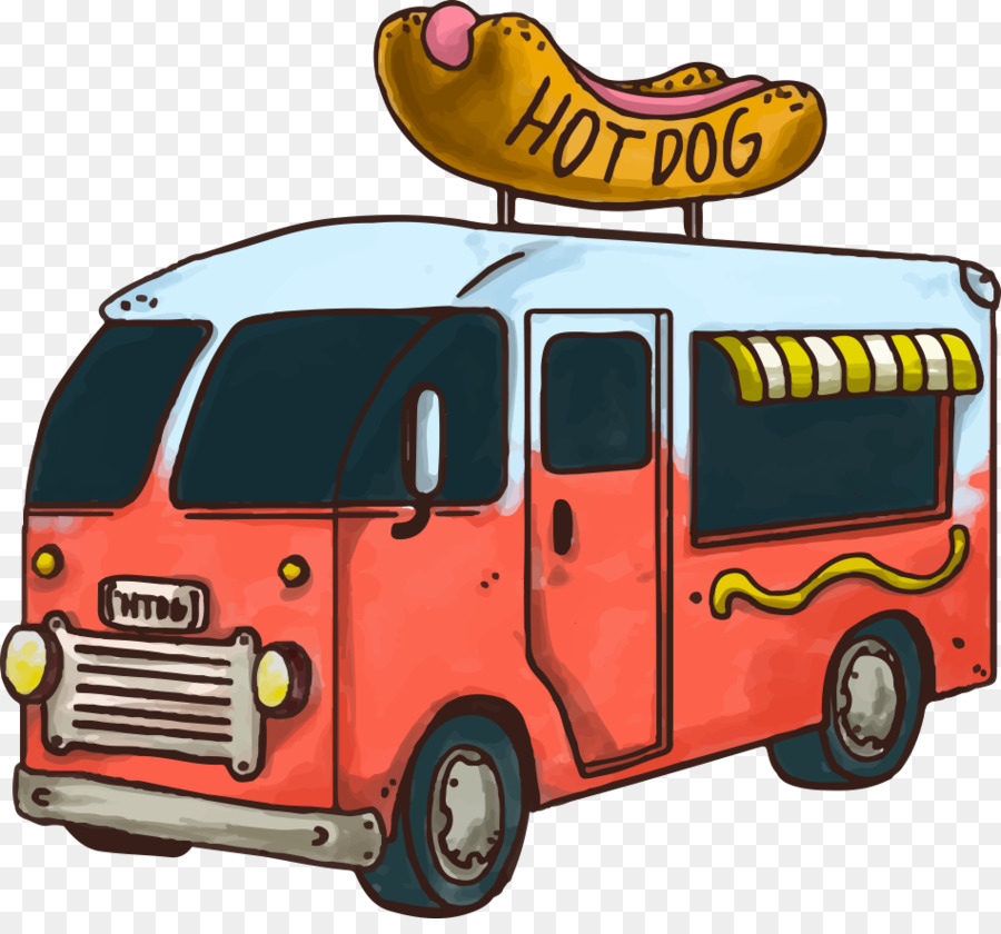 900x840 Hot Dog Fast Food Hamburger Car Food Truck