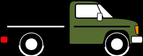 500x198 Pickup Truck Vector Graphics Public Domain Vectors
