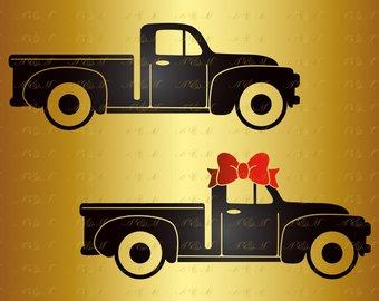 340x270 Pickup Truck Vectors Etsy