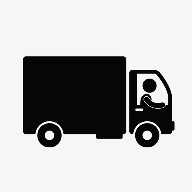 650x650 Truck, Black, Truck Vector Png And Psd File For Free Download