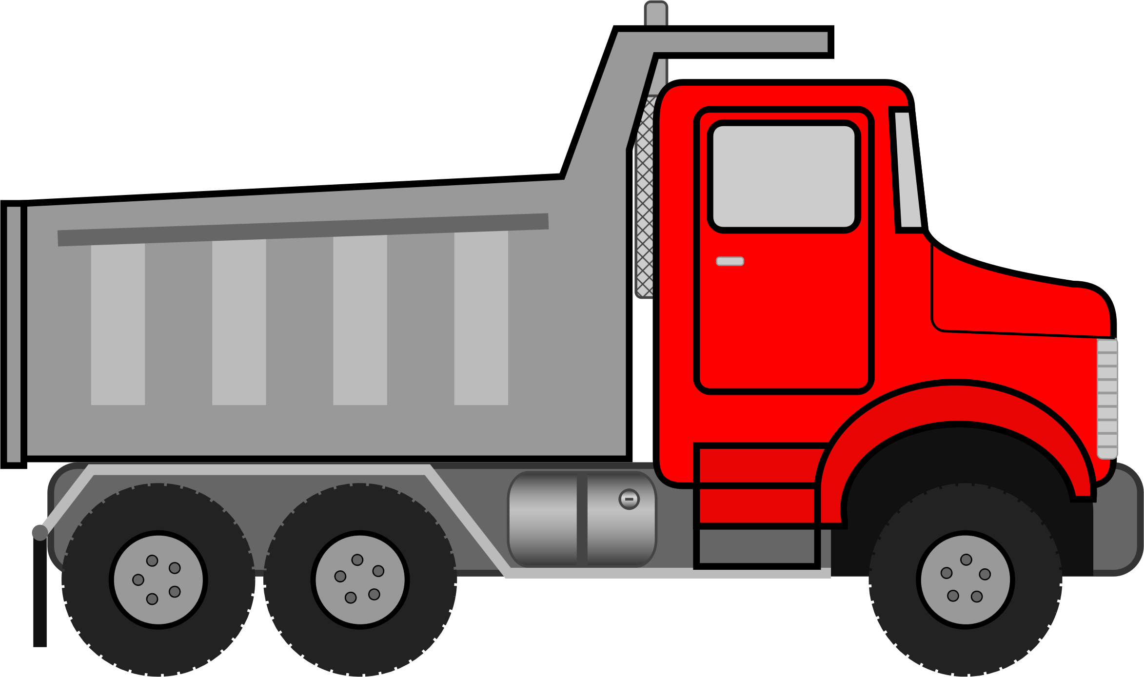 2346x1389 Truck Vector Clipart Image