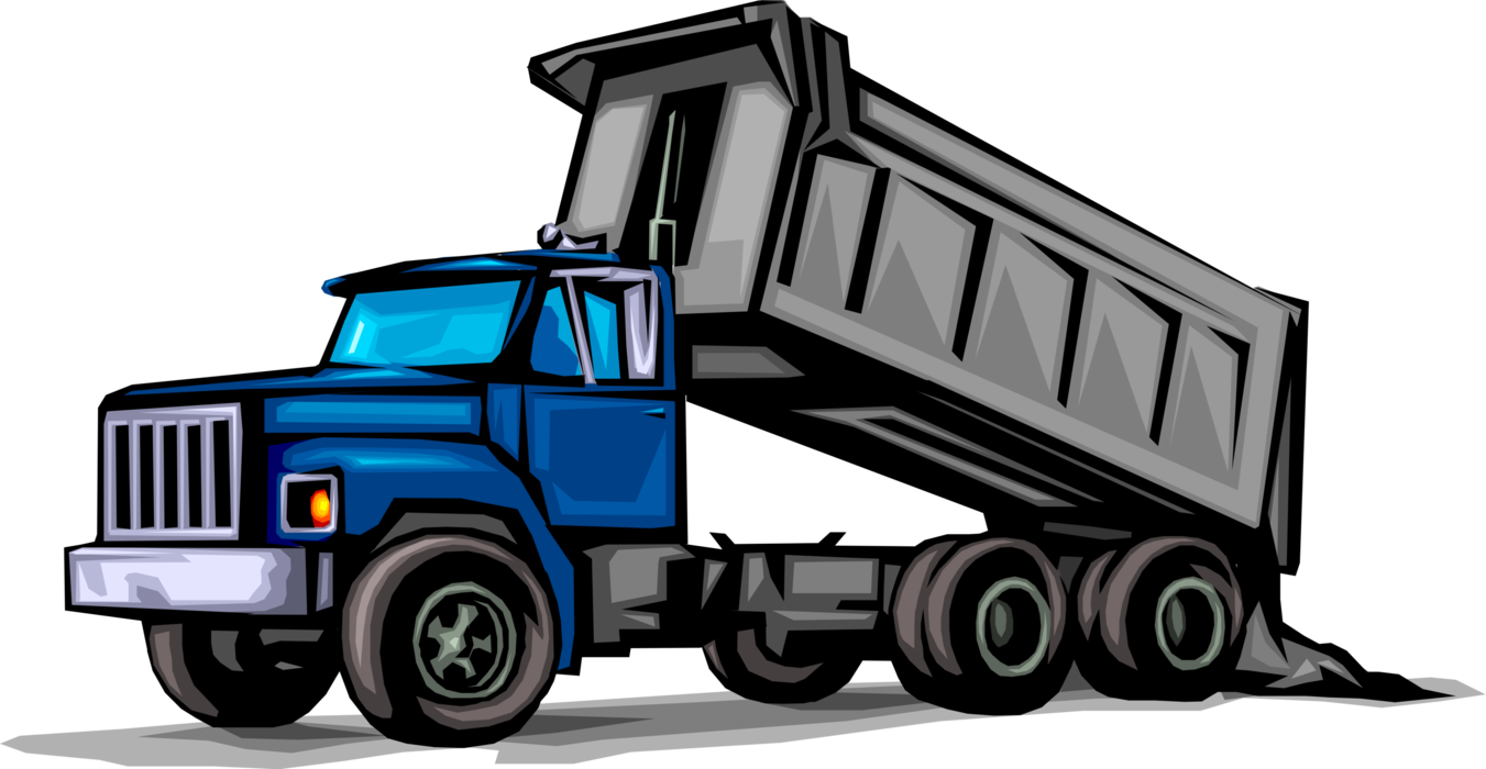 1351x700 Collection Of Free Vector Truck Dump. Download On Ubisafe