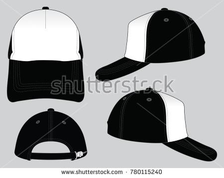 450x358 5 Panel Hat Template Vector Blank Trucker Hat Vector Download Free