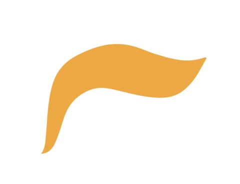 480x369 Trump Clipart Hair Cute Borders, Vectors, Animated, Black And
