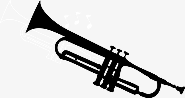 650x344 Trumpet Vector, Song, Sheet Music, Music Png And Vector For Free