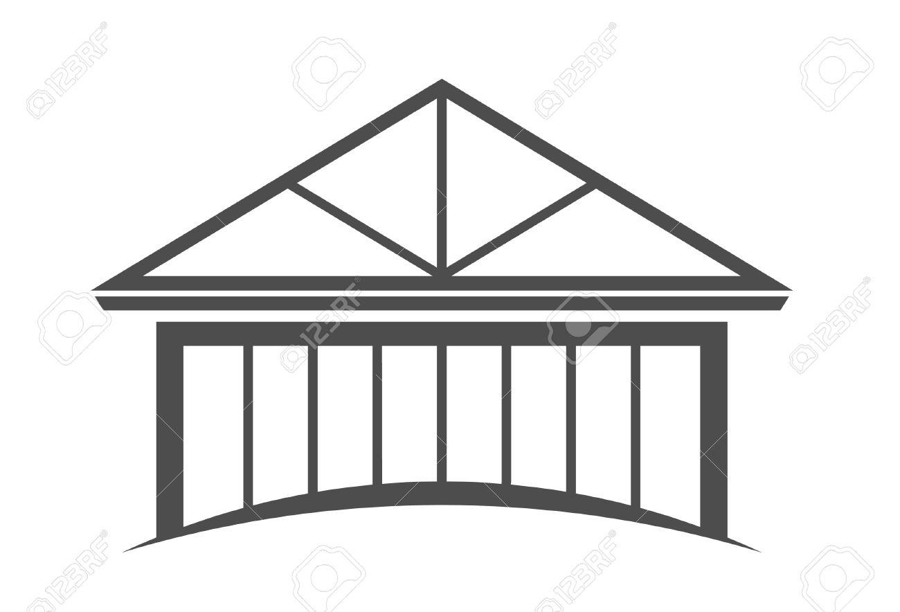 1300x884 Roof Truss Clipart