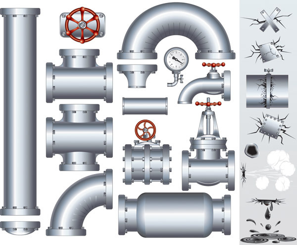 600x494 Steel Tube Vector Free Download Eps Files