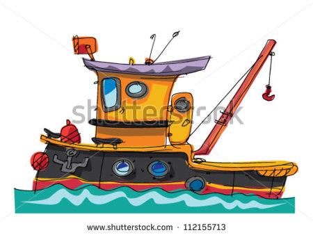 Tugboat Vector