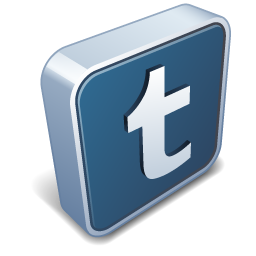 256x256 Tumblr Vector 3d Social Icons 256px Icon Gallery
