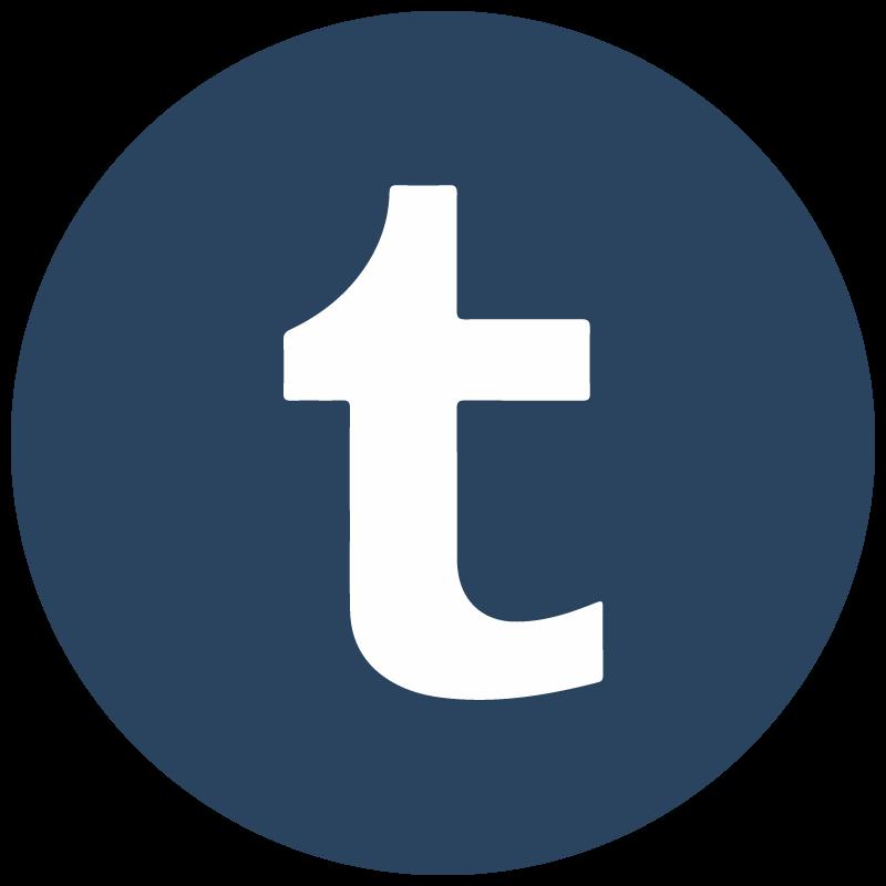800x800 Tumblr Icon Vector Logo Free Vector Silhouette Graphics Ai Eps