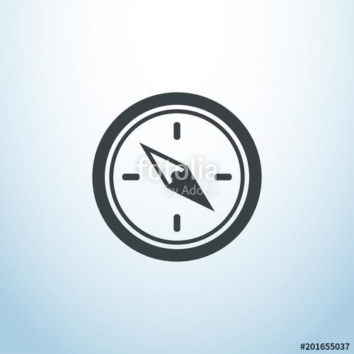 500x500 Tumblr Explore Icon Vector, Compas, Isolated, Button, Eps, Ui, Web