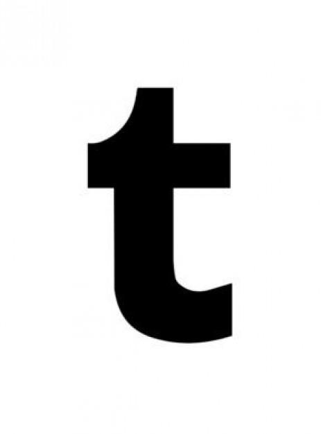 463x626 Icon Tumblr Logo Vector