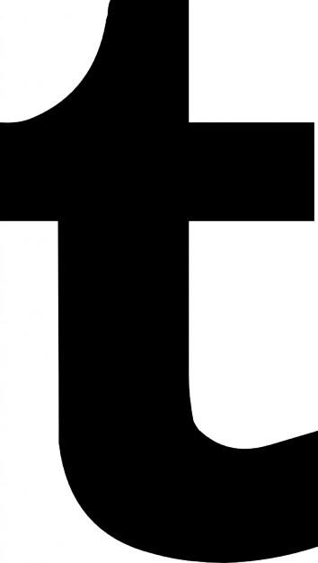 354x626 Tumblr Logo Vectoriel