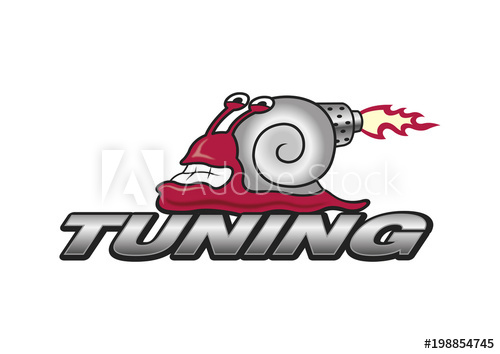 500x354 Funny Tuning Logo Turbo Snail, Symbol, Vector, Car Sport