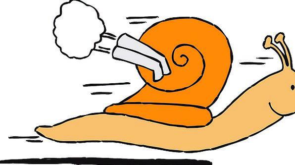 596x333 Snail, Train, Turbo, Engine, Move, Change, Speedy, Speed, Shell