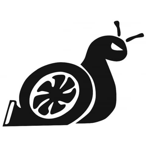 480x480 Super Funny Turbo Snail Vinyl Sticker
