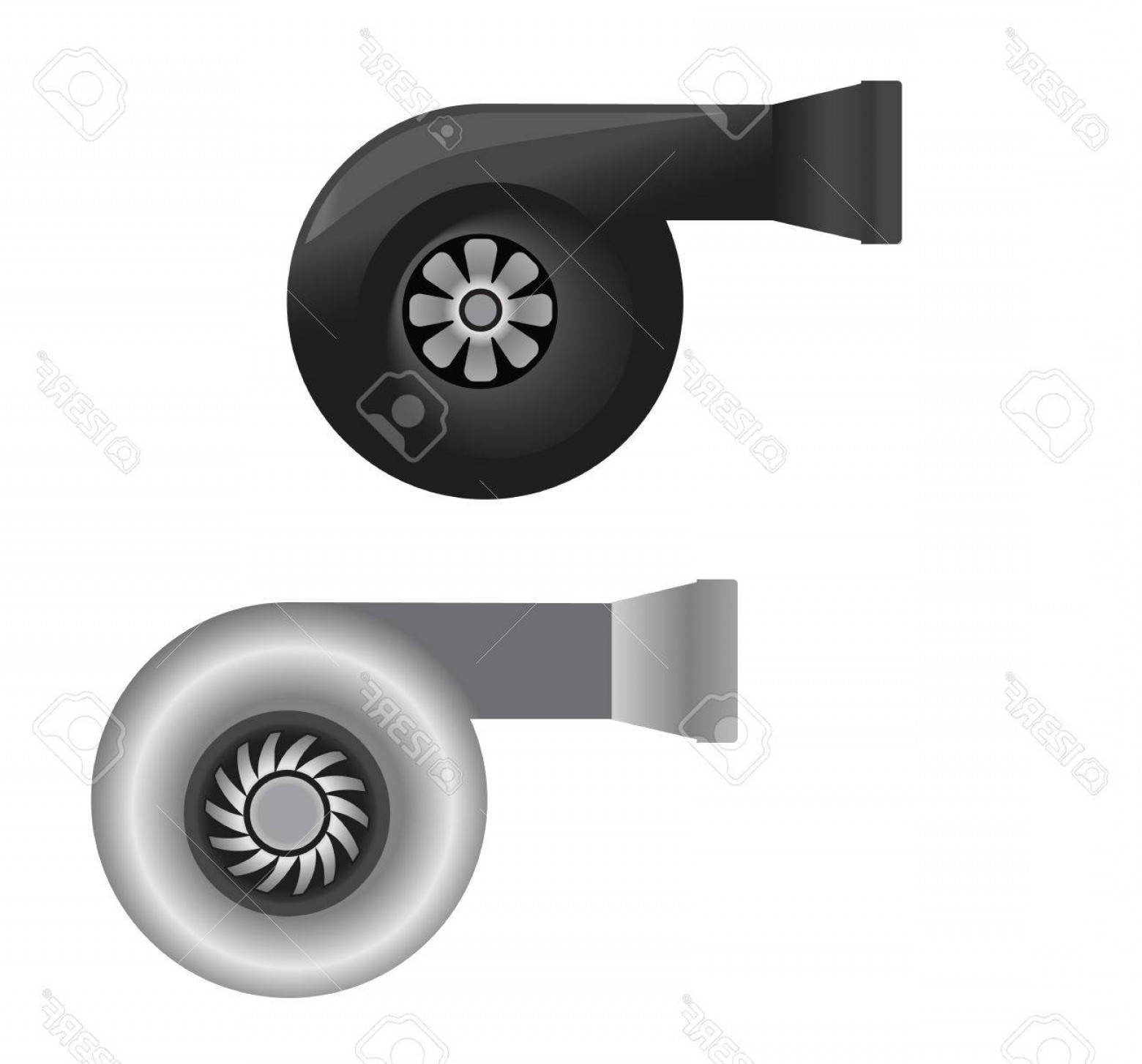 1560x1454 Photostock Vector Automobile Turbo Charger Vector Arenawp