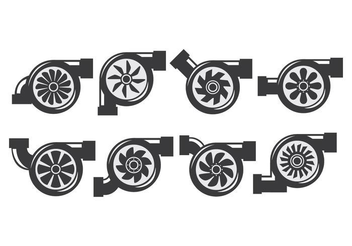 700x490 Turbocharger Icons