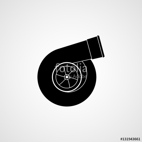500x500 Turbocharger Icon Stock Image And Royalty Free Vector Files On
