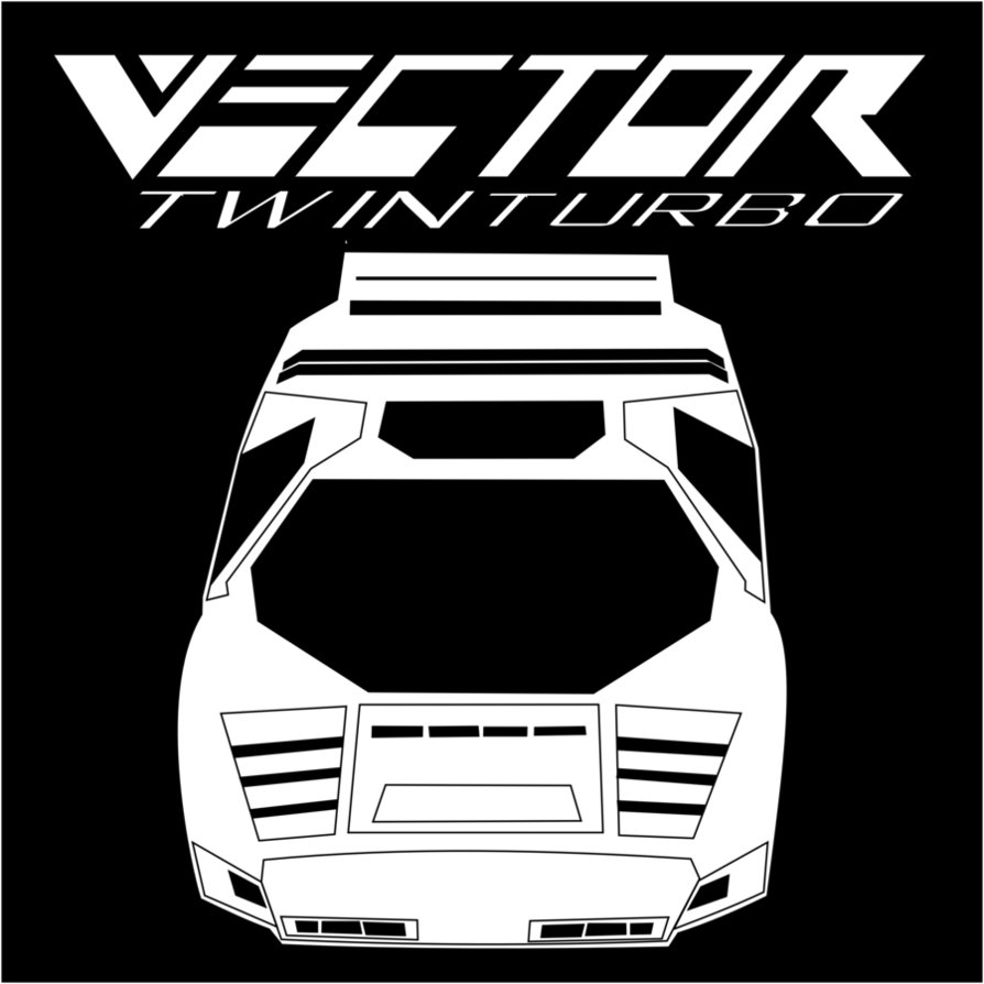 894x894 Vector Twin Turbo W2 Fan Shirt Design By Dextermurphy