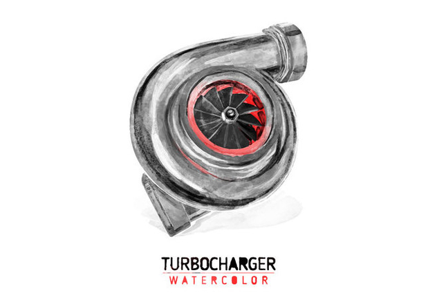 632x443 Free Turbocharger Watercolor Vector Free Vector Download 403609