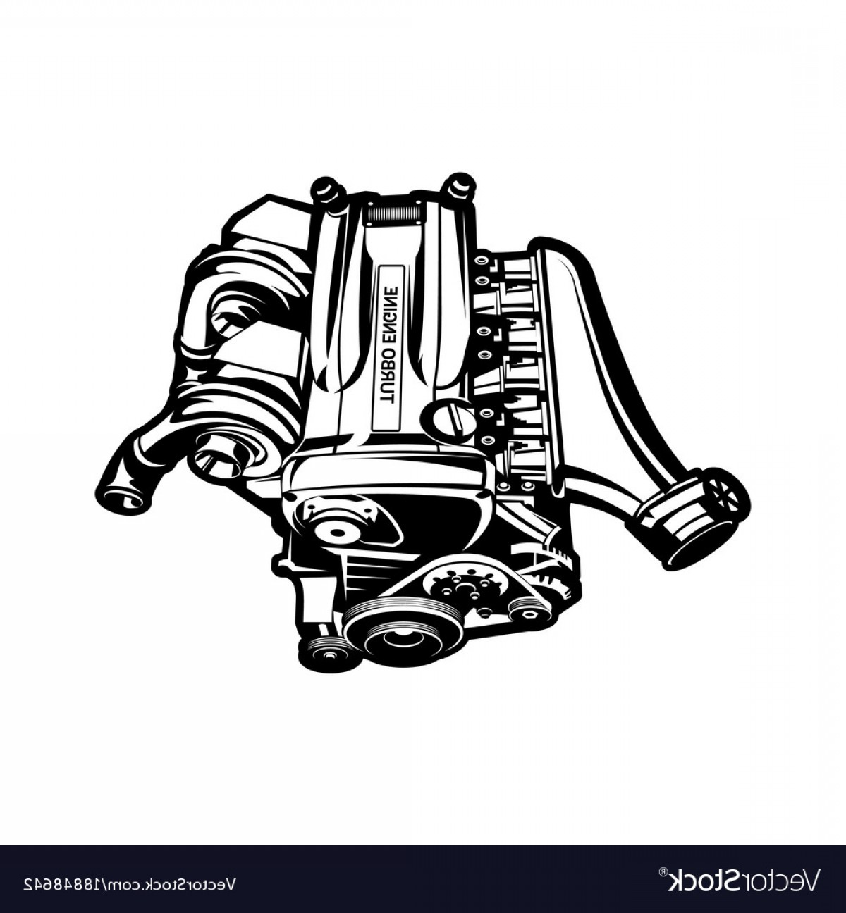 1200x1296 Car Engine Turbo Muscle Car Speedster Vector Arenawp