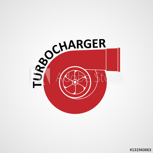 500x500 Turbocharger Red Icon