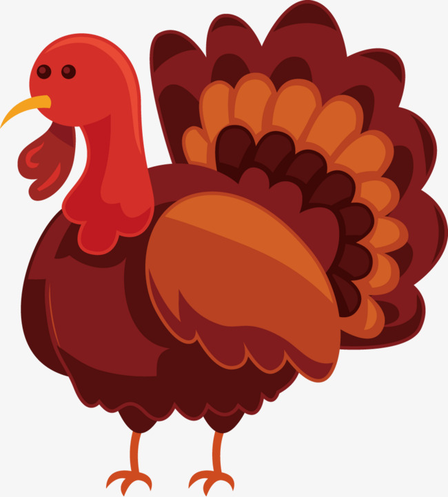 650x721 Vector Painted Turkey, Vector, Hand Painted, Turkey Png And Vector