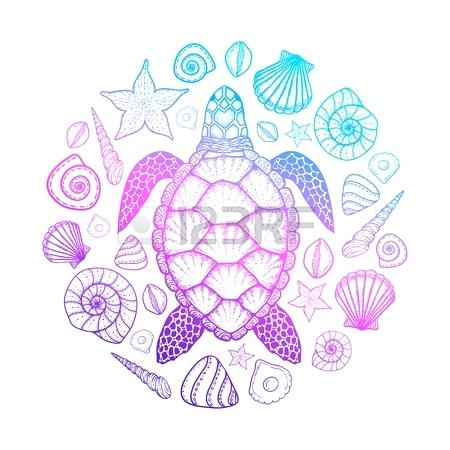 450x450 Turtle Shell Design Ornate Turtle Shell Pattern Turtle Shell Nail