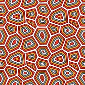 168x168 Vector Of Ornate Turtle Shell Pattern.