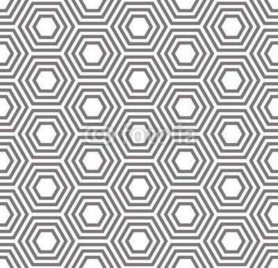 400x386 Geometric Seamless Pattern. Turtle Shell, Honeycomb Pattern