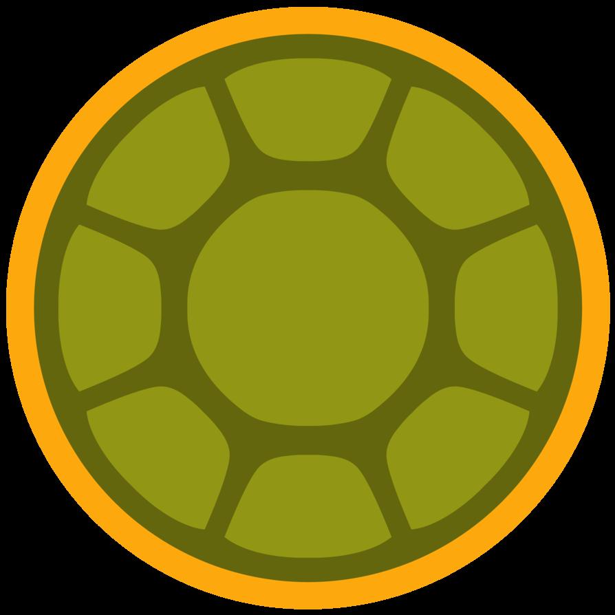 894x894 Ninja Turtle Shell Vector