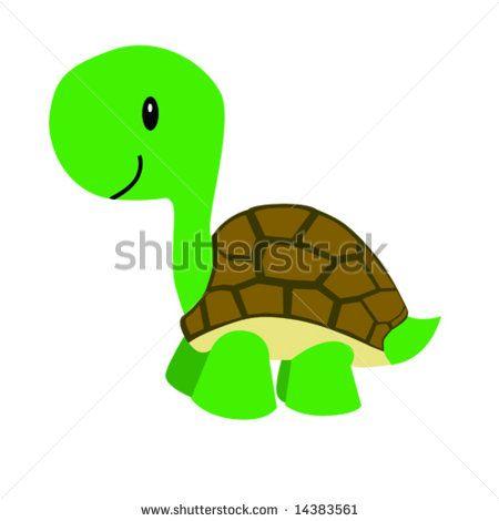 450x470 Turtle Shell Clip Art Vector Illustration Of A Happy Cartoon