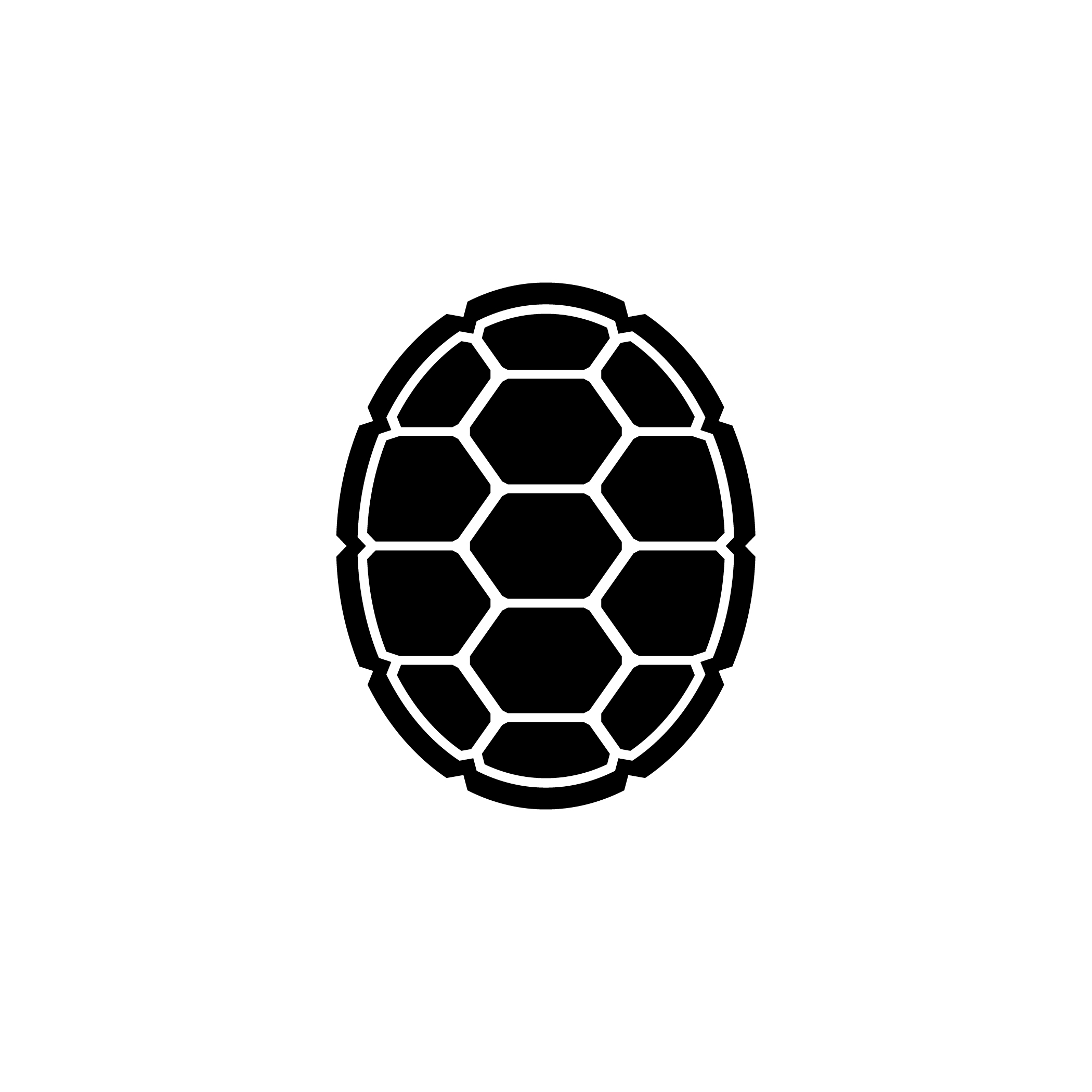 2100x2100 Turtle Shell Clipart Freeuse Stock Svg