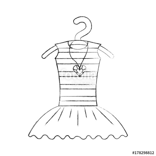 500x500 Tutu Ballet And Necklace On The Hanger Costume Stock Image And