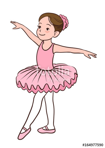 354x500 Cartoon Vector Illustration Of A Smiling Little Caucasian