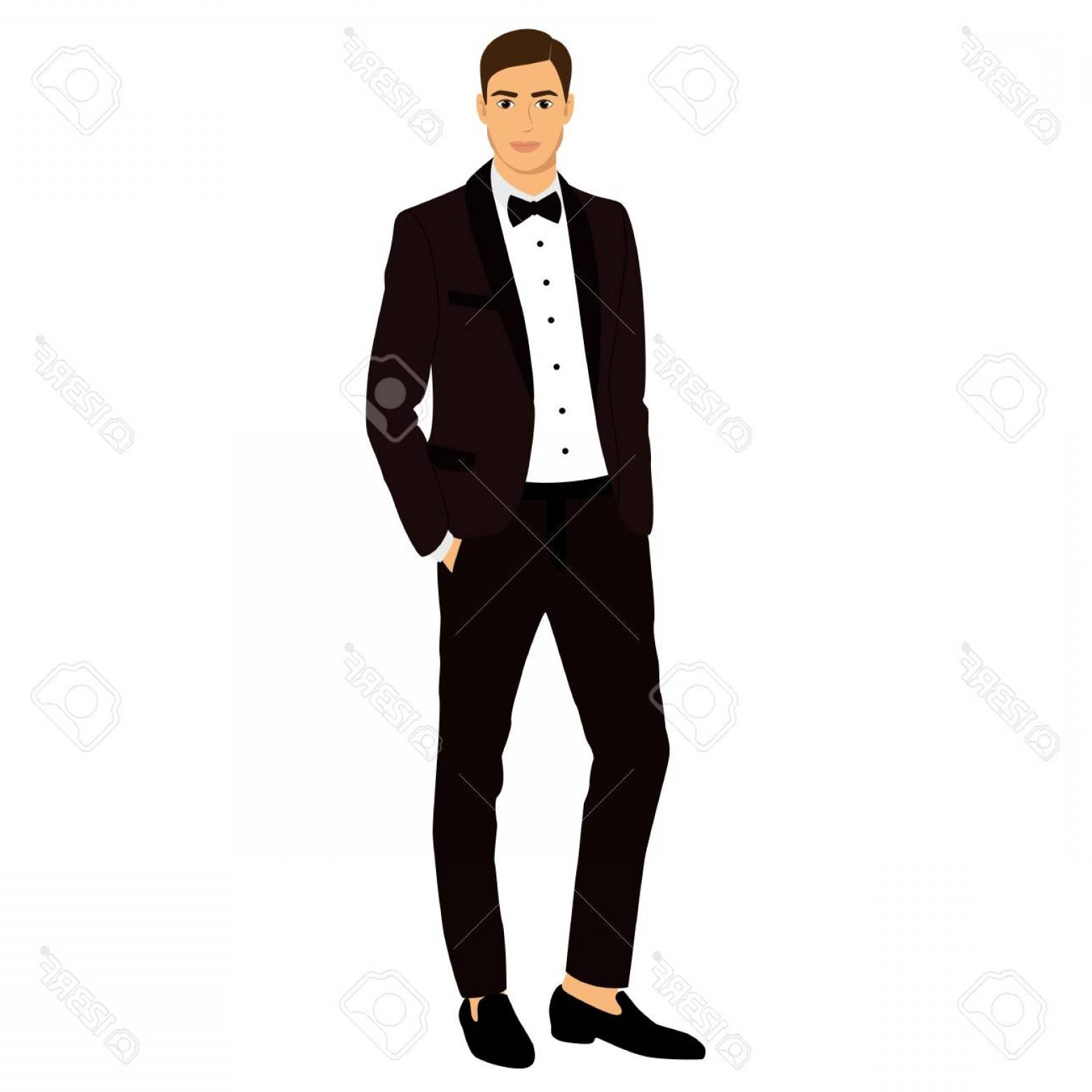 1560x1560 Photostock Vector The Groom Clothing Wedding Men S Suit Tuxedo