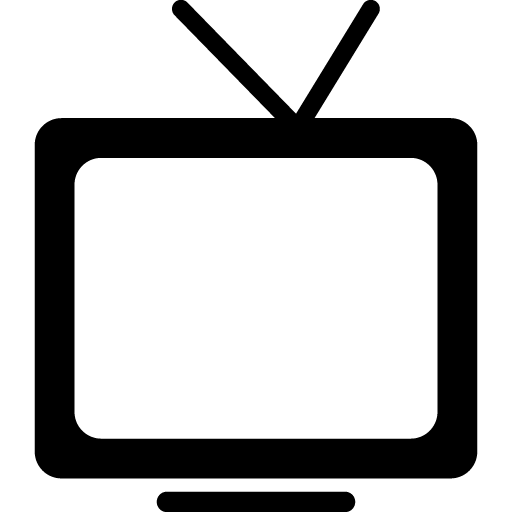 512x512 15 Vector Television Tv Symbol For Free Download On Mbtskoudsalg