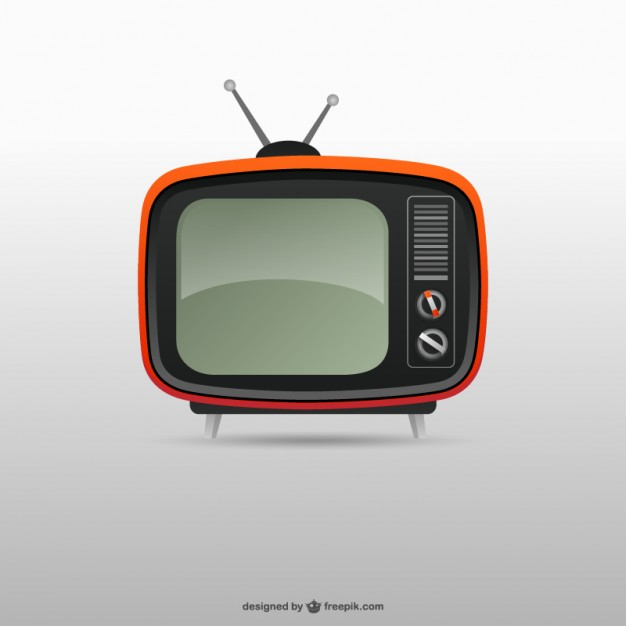 626x626 Retro Tv Vector Free Download